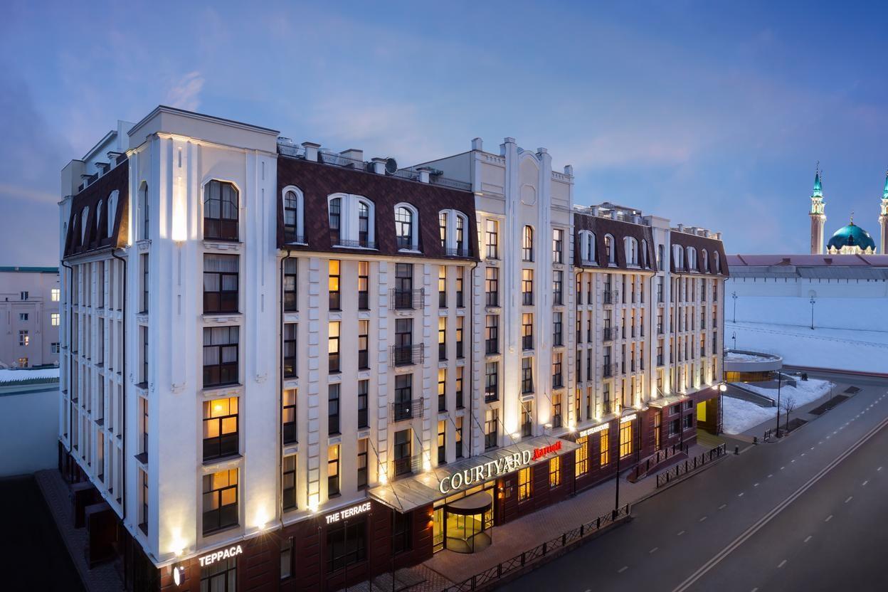 Отель Courtyard by Marriott Kazan Kremlin 4* Казань